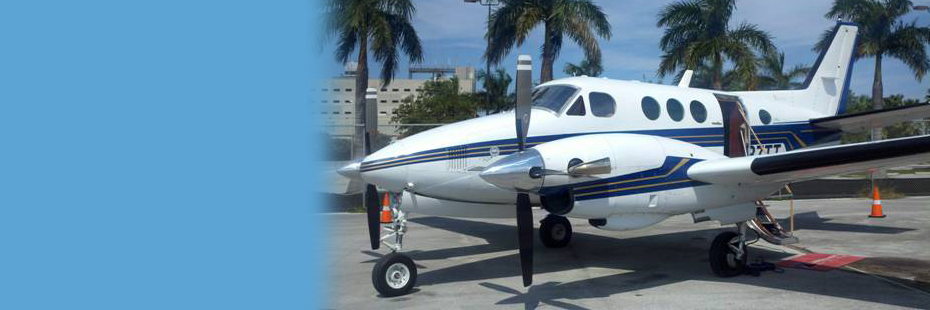 Our Legal Response Team Plane is Ready to Travel Anywhere in Florida